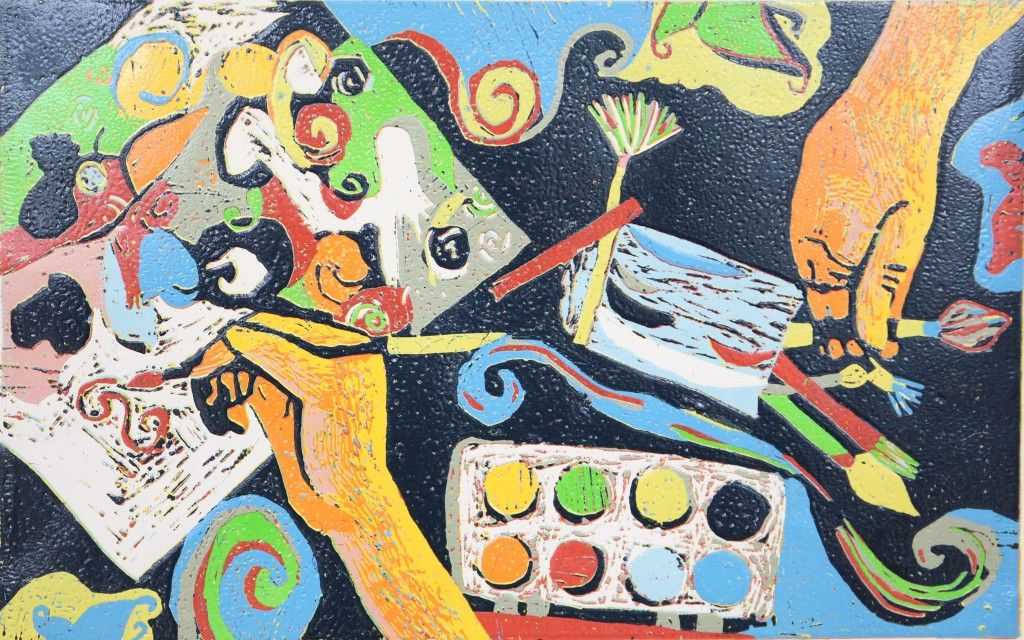 7 - Ex Aeque - Rebecca Križánková 10r, Milujem Maľovanie