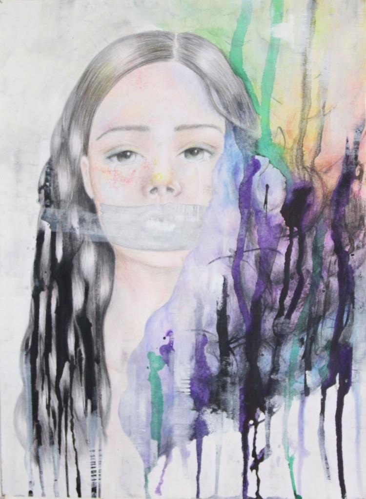 13 - Ex Aeque - Simona Vlková 17r, Moje Pocity, Čo nemôžem vypovedať, vyjadrím farbou. A to je úžasné.