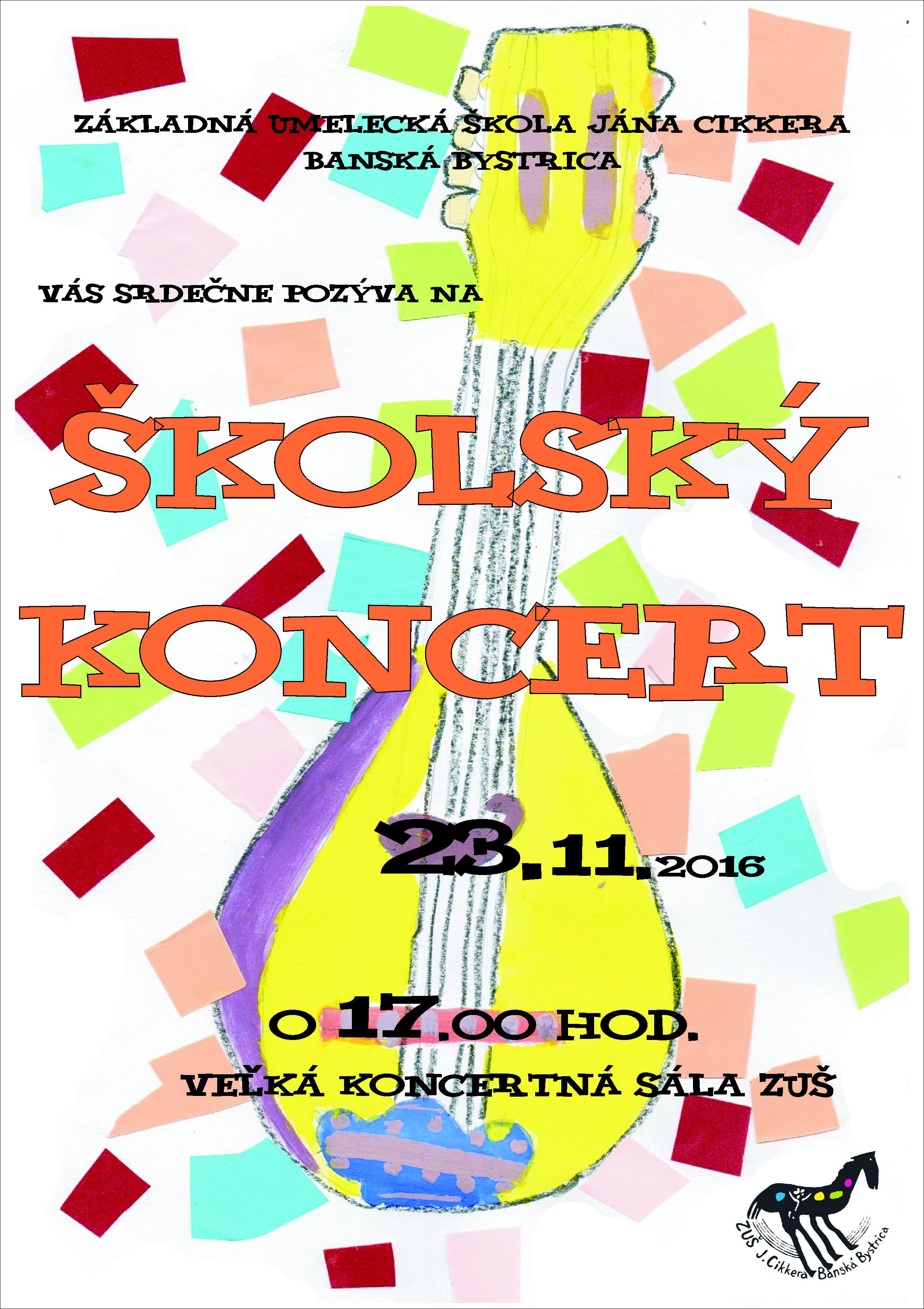 23.11. školský koncert